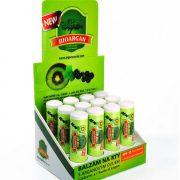 krabice balzámů na rty BIOARGAN s arganovým olejem SPF 15