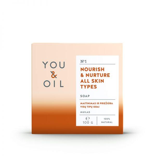 YOU&OIL Pěstící mýdlo