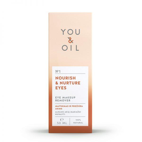 YOU&OIL Pěstící odličovač očního makeupu