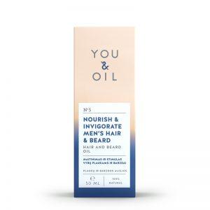 YOU&OIL Posilující pánský olej pro vlasy a vousy