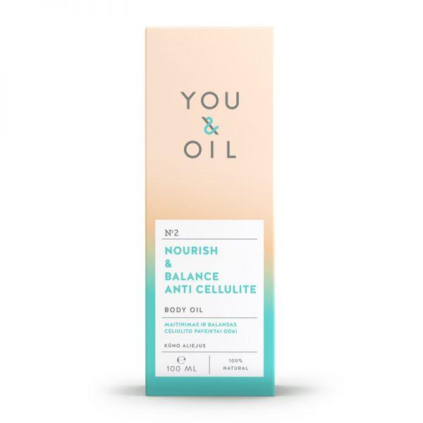 YOU&OIL Tělový olej proti celulitidě