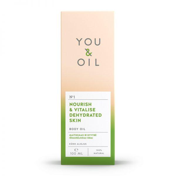 YOU&OIL Vitalizační tělový olej